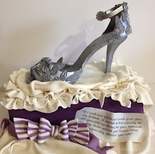 Photo: Silver Butterfly Shoe by Shereen's Cakes & Bakes  (4/7/2012) View cake details here: http://cakesdecor.com/cakes/11221
