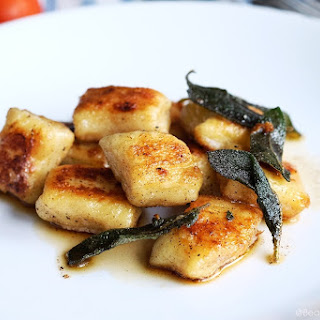 Pan Seared Gnocchi with Brown Butter and Sage