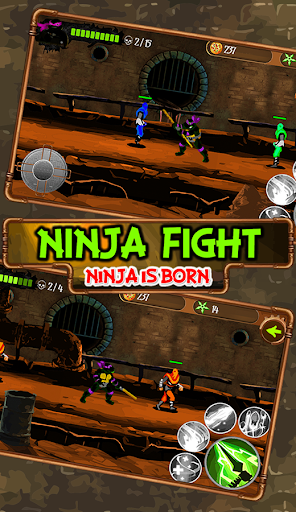 Turtle Fight - Ninja is Born cheat screenshots 2