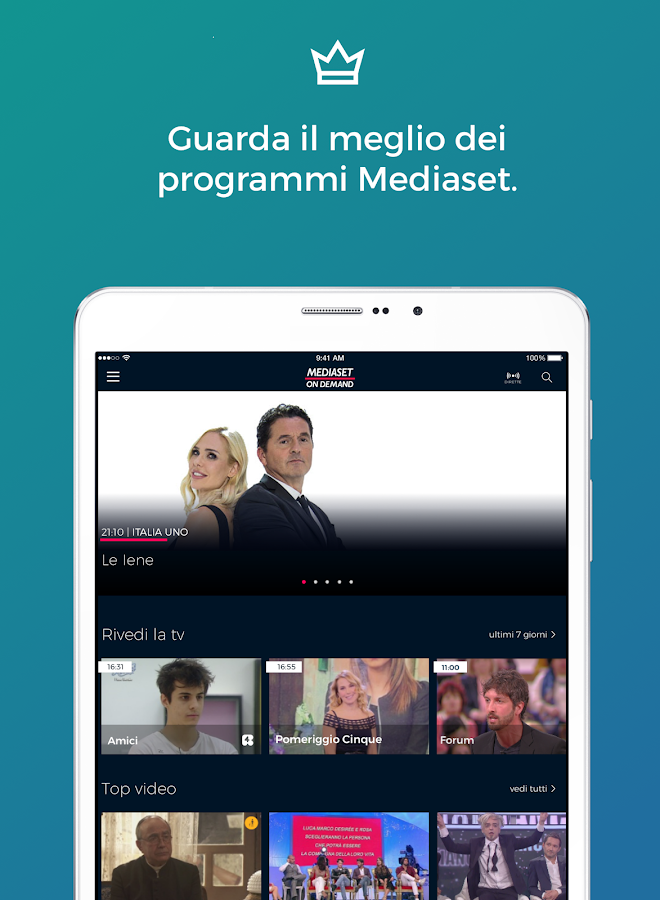 Mediaset On Demand- screenshot