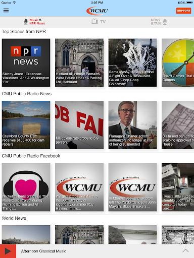 玩音樂App WCMU Public Radio App免費 APP試玩