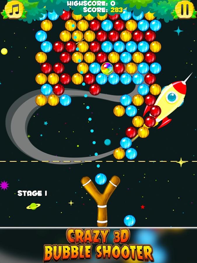 3d bubble shooter
