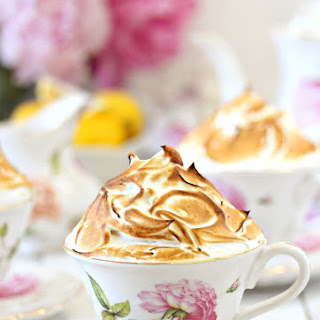 Lemon Meringue Teacup Cakes