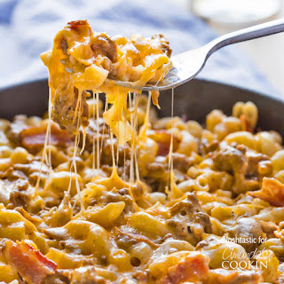 Bacon Cheeseburger Pasta Skillet.