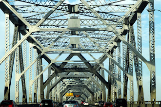 Photo: Eastern span is a cantilever bridge