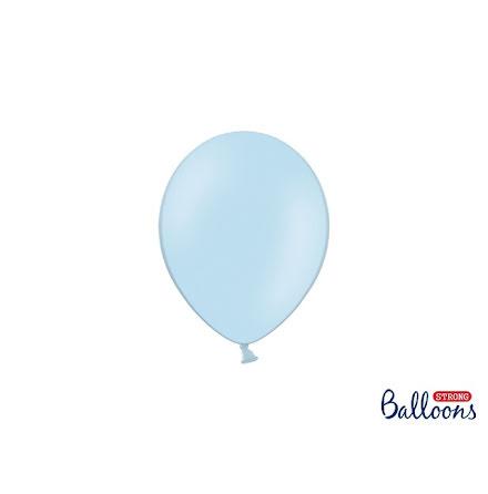Ballonger 12 cm - Babyblå pastell