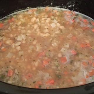 Crockpot Navy Bean Soup.