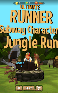 Jake Jungle Subway Dash 3D - náhled