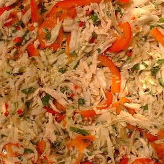 Chinese Shredded Chicken Salad.