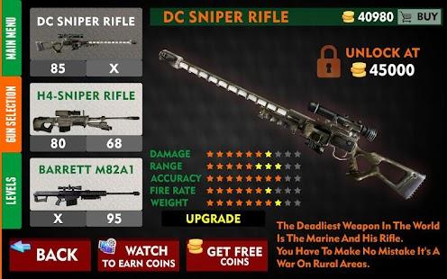 Sniper Helicopter War 2018: Free Sniper Games- FPS - náhled