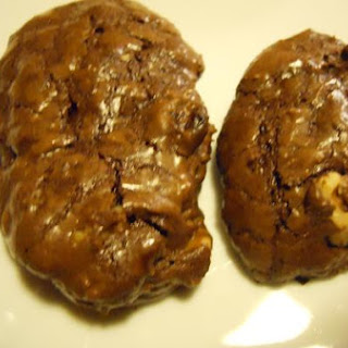 Ghirardelli Chocolate Walnut Cookies