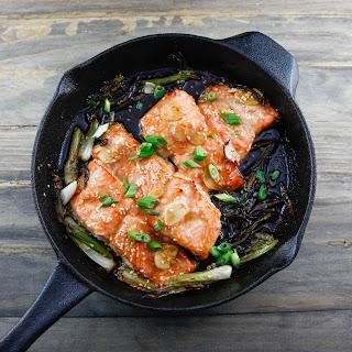 Asian Style Salmon.