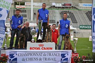 Photo: Podium Championnat (Gavroche-Cougar-Fedzarro)