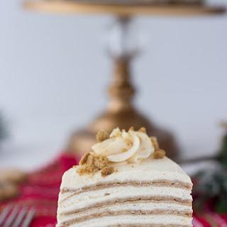 Gingerbread Crepe Cake