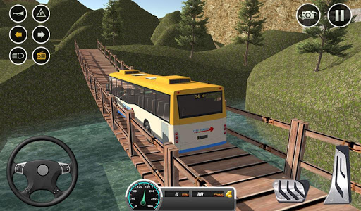 Uphill offroad bus driving sim 1.0.8 screenshots 18