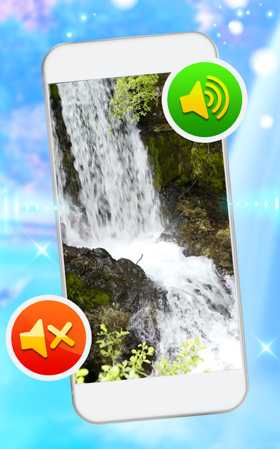 Waterfall Sound Live Wallpaper- screenshot