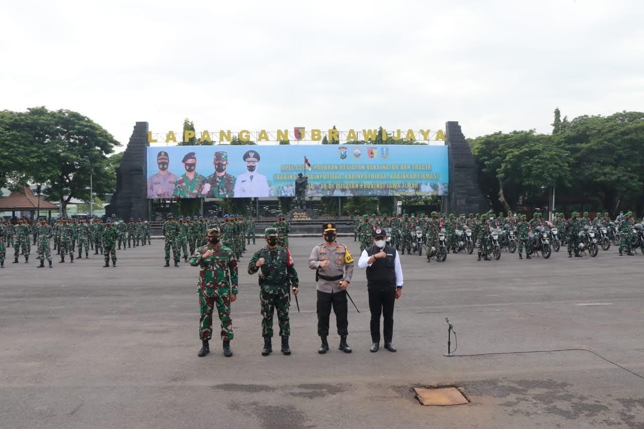 Apel Gelar Pasukan PPKM Mikro, Perkuat Pengaman Di Tingkat RT/RW