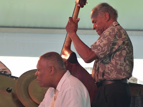 Photo: Billy Hart dr, Cecil McBee b withThe Cookers