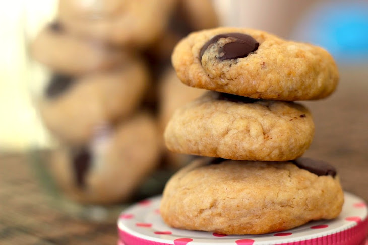 Easy, Healthy Peanut Butter Chocolate Chip Cookies Recipe