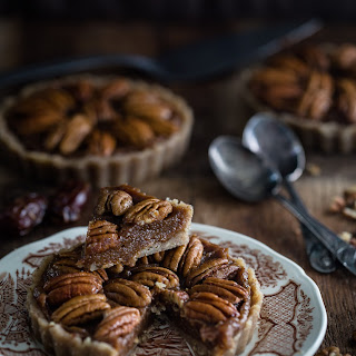 No Bake Gluten Free Vegan Pecan Pie