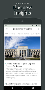 The Wall Street Journal: News - 屏幕截图缩略图
