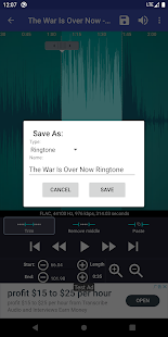 Ringtone Maker - create free ringtones from music Screenshot