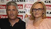 Ismael Torres, izquierda, y Antonia Fernández, fotografiados en un mismo acto hace unos años
