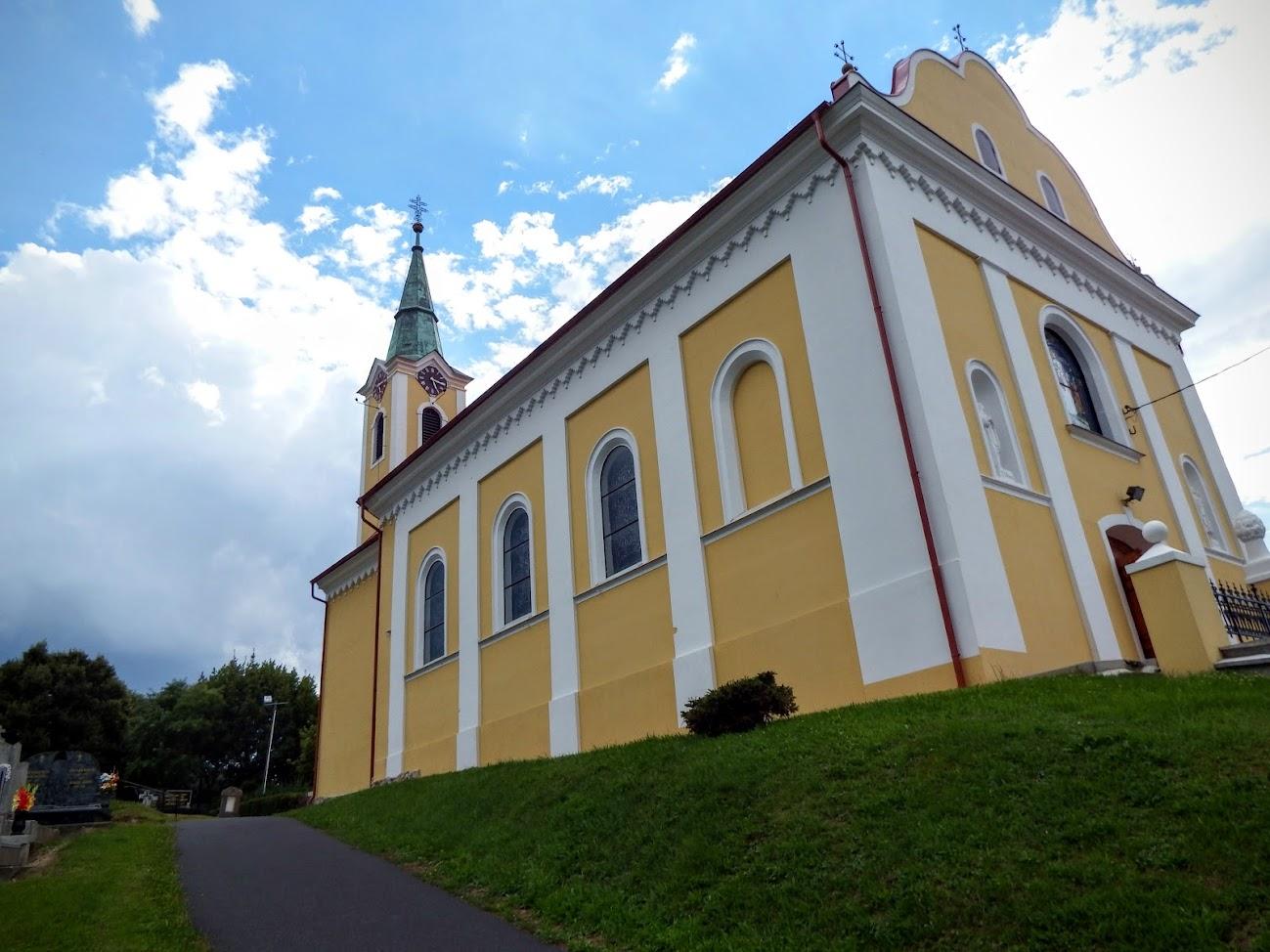 Horvátzsidány - Keresztelő Szent János rk. templom