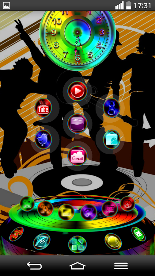 Next Launcher 3D Theme ClubMix- screenshot