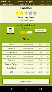 Football Agent MOD (Unlimited Money) 5