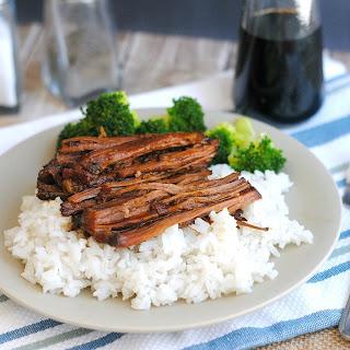 Slow Cooker Asian Shredded Beef.