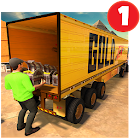 Europe Truck Transport Simulator: pieno Gold Drive icon