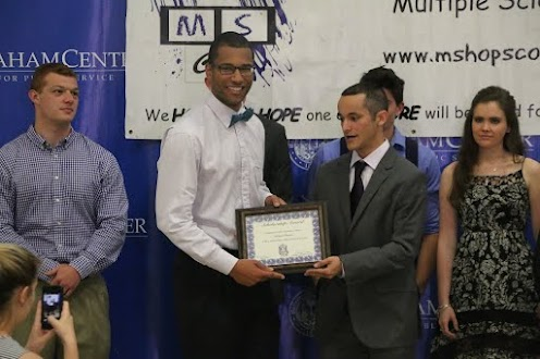 UF Hopping 4 A Cure's 1st Scholarship Recipient