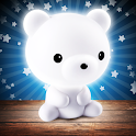 Baby night light - lullabies white noise icon