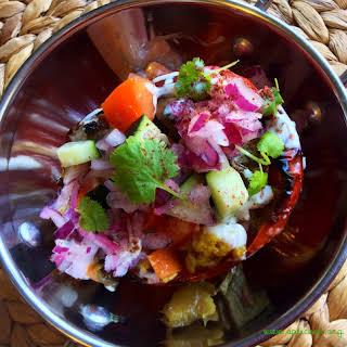 Spicy Masala Samosa Vegetable Stuffing.