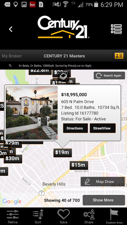 CENTURY 21 Real Estate Mobile- screenshot