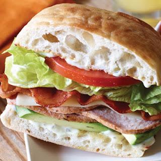 Bacon Avocado Sandwich.