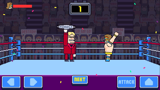 Rowdy Wrestling - screenshot