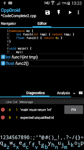 CppDroid – C/C++ IDE App Latest Version Download For Android and iPhone 2