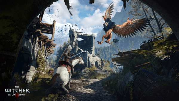 The Witcher 3 fight scene uses up gaming storage