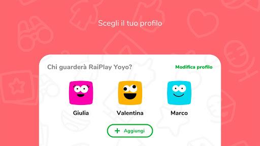 RaiPlay Yoyo 1.0.5 screenshots 2