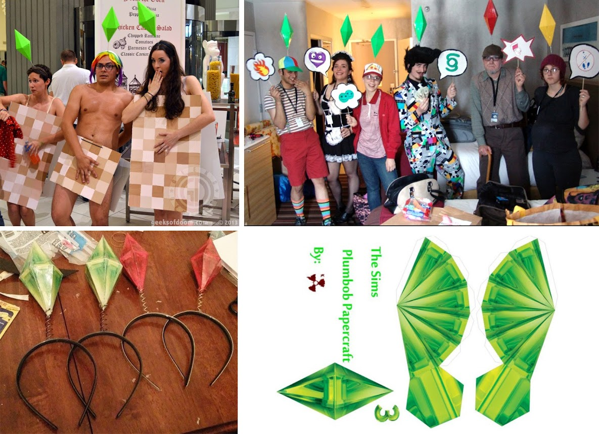 the sims cosplay diy