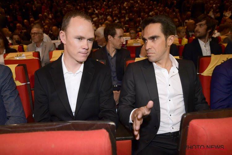 """Contador acht Giro nog niet helemaal gereden maar weet wel: """"Als hij niet valt, kan hij niet verliezen"""""""