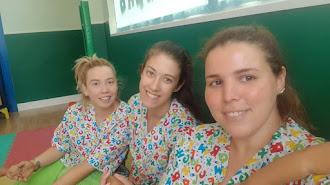 Patricia Ripoll, Silvia Peña y Natalia García forman el equipo de la Escuela.