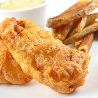 Beer-Battered Cod Fish
