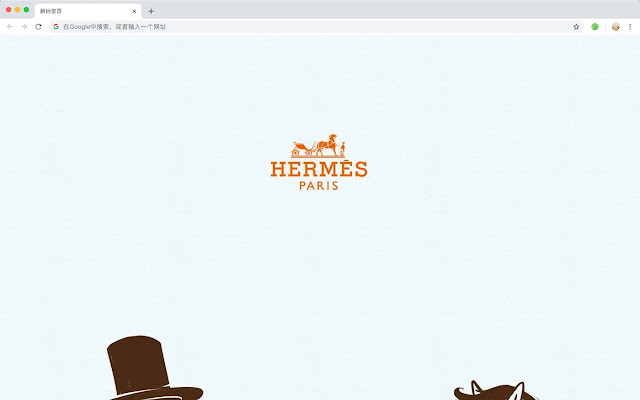 Hermes HD New Tabs Popular Brands Themes