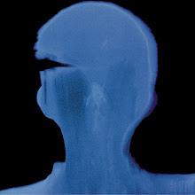 Photo: 17_Memoires photogramme 50x50cm sur papier bleu © Olivier Perrot 1996