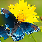 Butterfly Jigsaw Puzzle Games