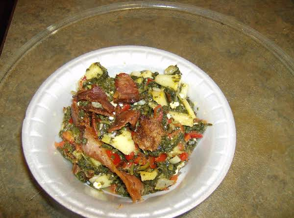 Dan's Best Wilted Spinach Salad Recipe