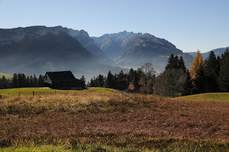 Photo: Goldener Herbst  #appenzell   #alpstein   #switzerland